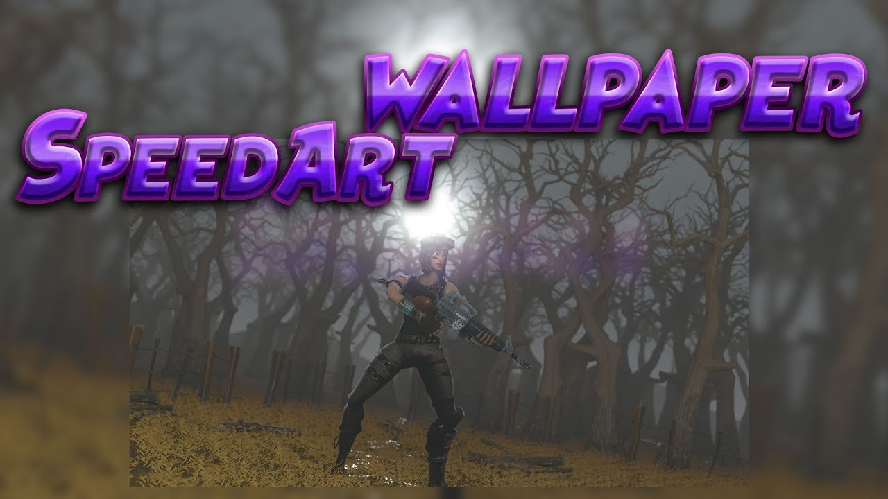 Free Fortnite Wallpaper Speedart Renegade Raider Youtube