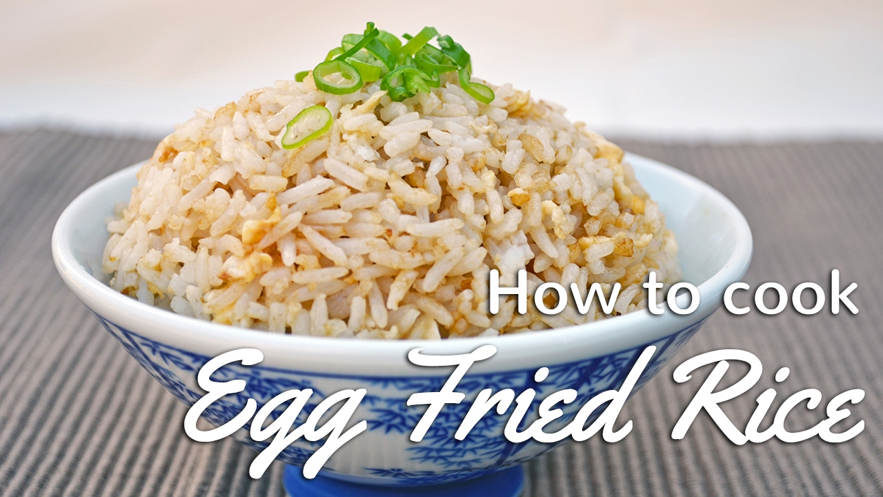 How to cook perfect egg fried rice youtube how to cook perfect egg fried rice ccuart Gallery