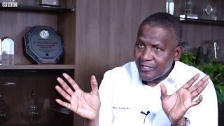 BBC Hausa Hirar BBC da Alhaji Aliko Dangote inda ya bayyana dalilan da suka sa siminti ke tsada.