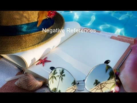 Negative References