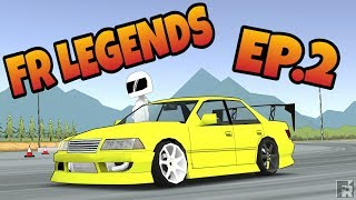 FR LEGENDS Episode 2 | Mark II | Tuning | Styling | Tandems