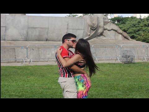 Kissing Prank  FOOTBALL EDITION