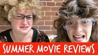 OUR AUNTS REVIEW SUMMER MOVIES // Grace Helbig