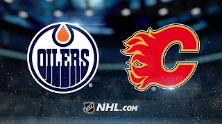 Oilers put up seven, hang on to take down Flames