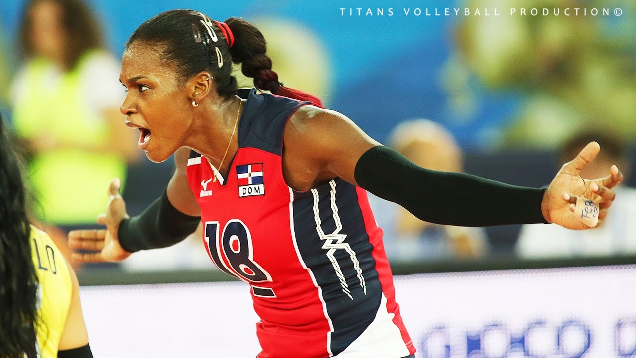 Bethania De La Cruz De Pena - Incredible Volleyball Spikes 3rd meter spikes | Best Blocks