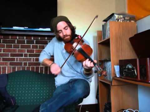 Thunderstruck fiddle cover