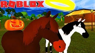 WORLD OF HORSES IN ROBLOX! CREATE YOUR OWN HORSE! -Horse World 🐴