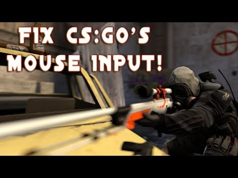 FIX CS:GO's Mouse INPUT And Make It FEEL Like CSS And 1.6!
