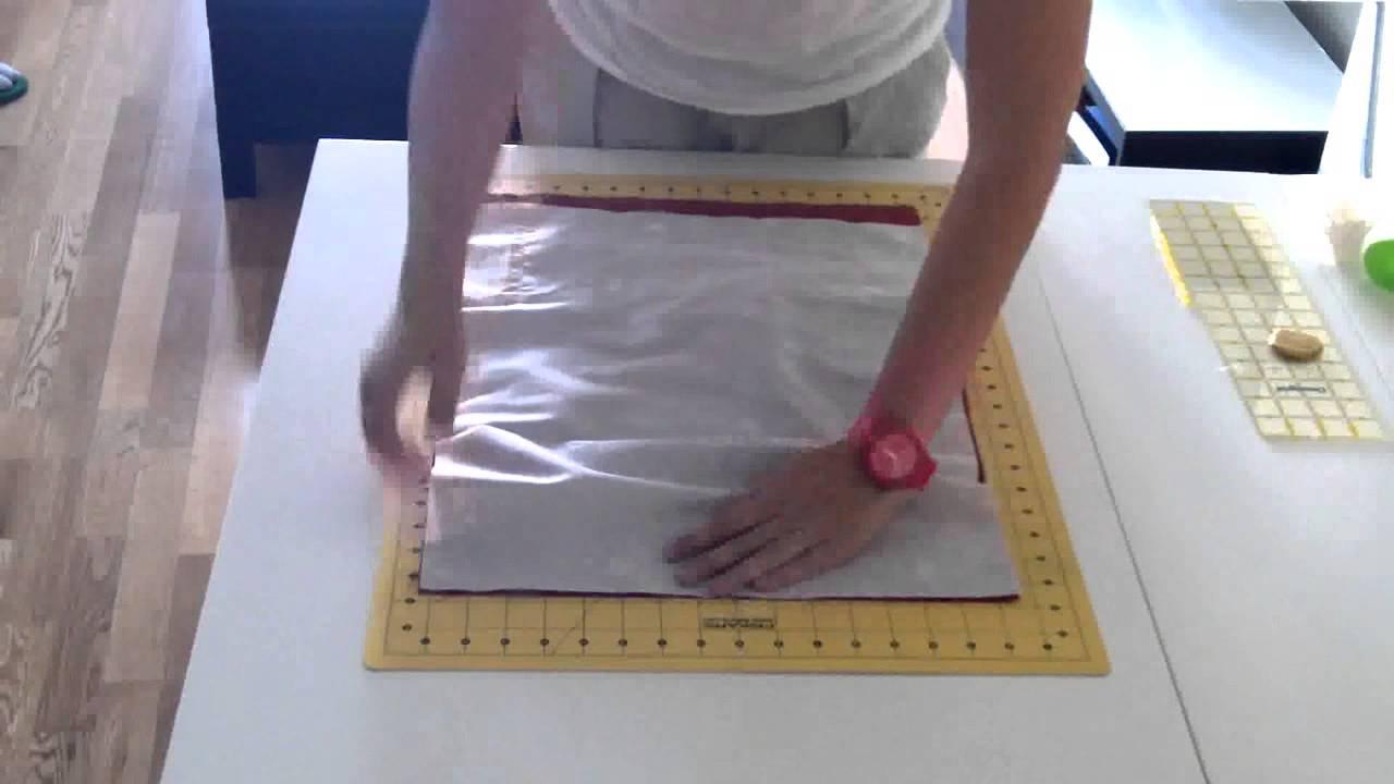 Pinafili tutorial para hacer una funda para guardar las - Hacer una manta de ganchillo ...