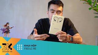 Unboxing FiiO LC-RE l Dây tai nghe hybrid đồng, bạc và vàng, thay đổi jack cắm linh hoạt