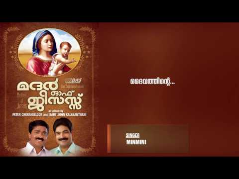 Daivathinte  | Singer Minmini  | Mother Of Jesus  | HD Song