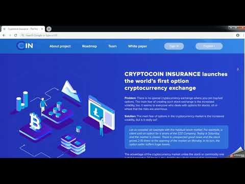 Crypto Coin Insurance: first optional