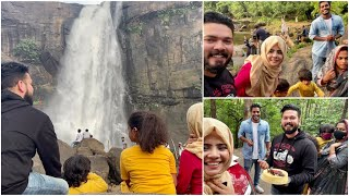Celebrating Jinu's Birthday At Athirappilly Waterfalls | Mashura | Basheer Bashi | Suhana