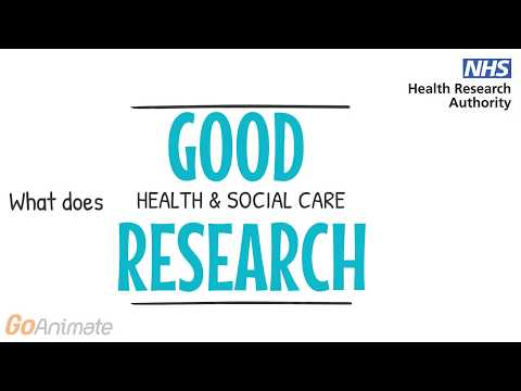 What does good health and social care research look like?