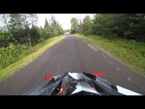 Hurley wi atv trail ride