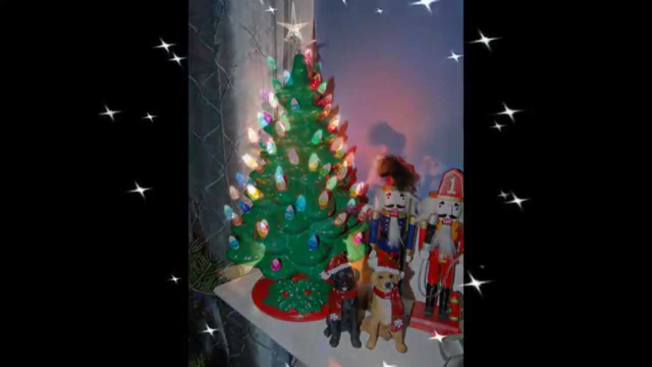how to make your own ceramic christmas tree - Porcelain Christmas Tree With Lights