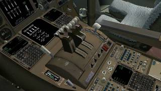 [HD] PMDG 747 New York to London [FS2004]