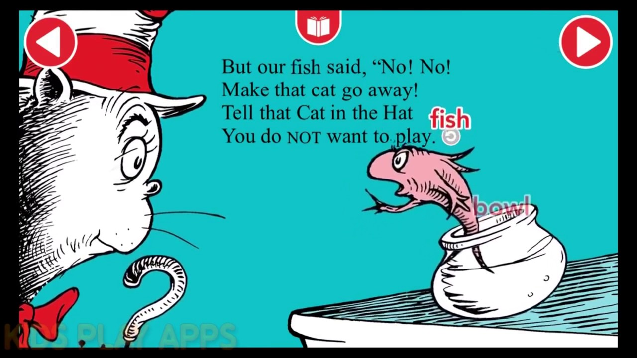 Dr Seuss Cat In The Hat Book Aloud