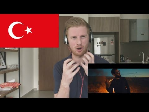 Burak King - Yanıyoruz  // TURKISH MUSIC REACTION
