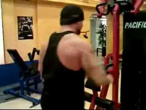A fast back workout