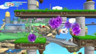 Otomedius Excellent (Xbox 360) DLC Stage EX3 Donburi Island (Expert) with Madoka