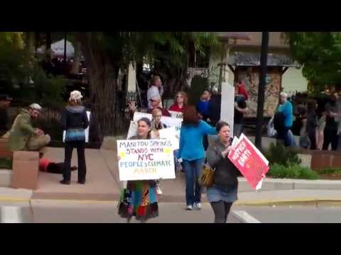 Manitou Climate March