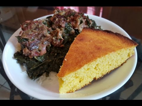 How to cook Collard Greens and Cornbread from scratch