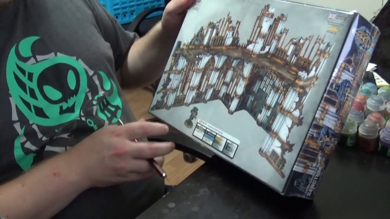 Rotterdam White Scar Unboxing Video: The New Sector Imperialis Terrain