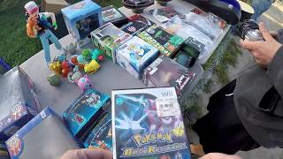 Live Retro Video Game Hunting #80 Flea Market & Yard Sale Finds 3 In 1 Day!!