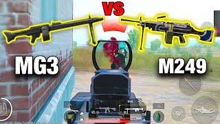 MG3 VS M249 | WHO WILL WIN? | PUBG MOBILE