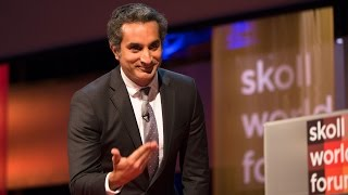 Bassem Youssef: Comedy and Controversy - Skoll World Forum 2015