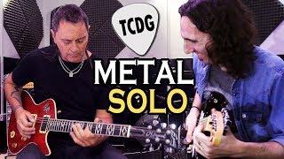 Impresionante Solo De Guitarra Estilo Metallica Ft. CLAUDIO TANO MARCIELLO