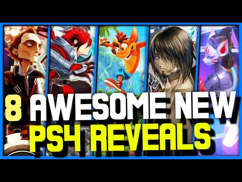8 Awesome NEW PS4 Games Revealed RECENTLY! - NEW JRPG, PLATFORMERS, FIGHTING GAME +MORE!