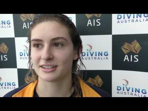 Australian diver Maddison Keeney