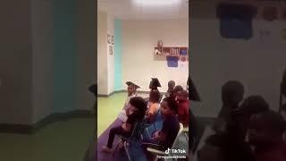 Little kid swearing at teacher