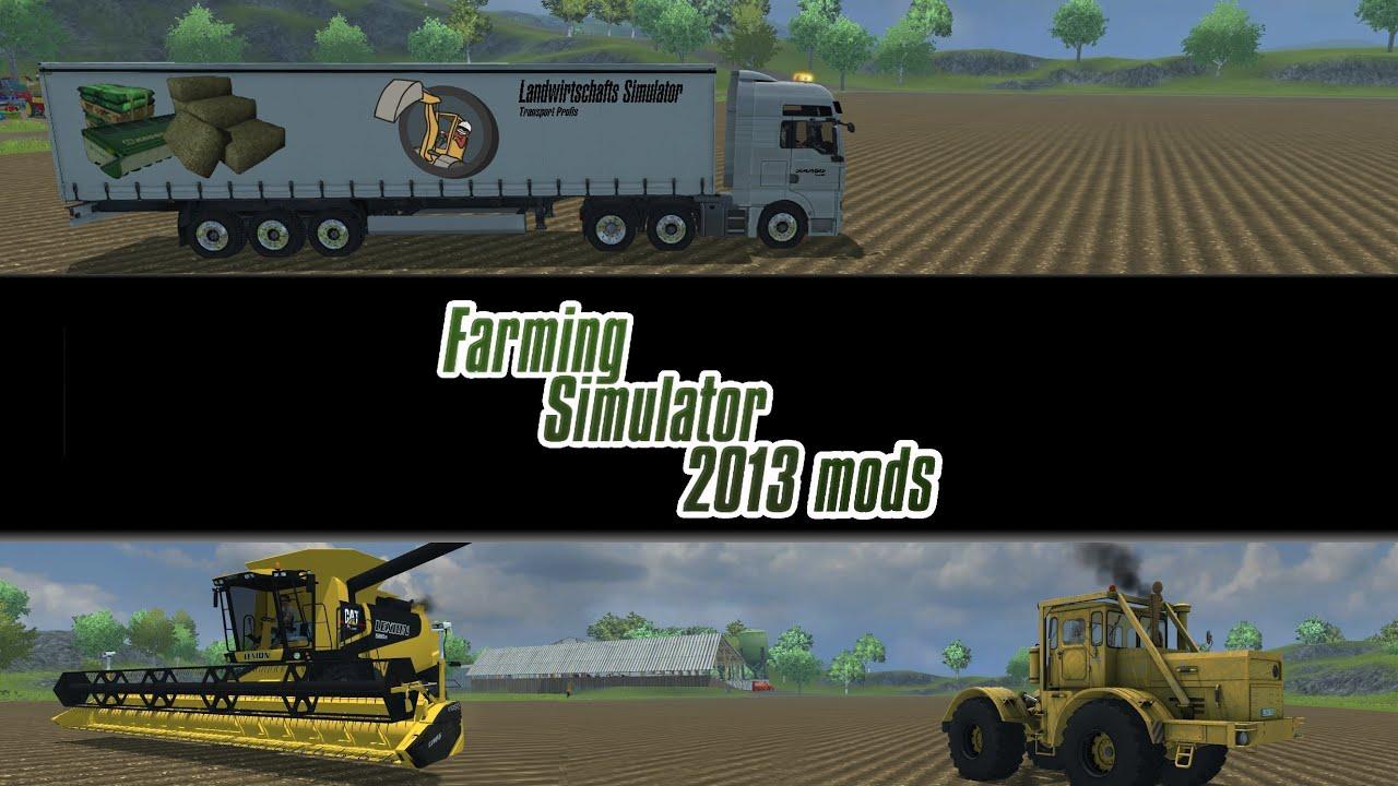 Farming simulator 2013 mod spotlight s4e20 trucks trucks tractor