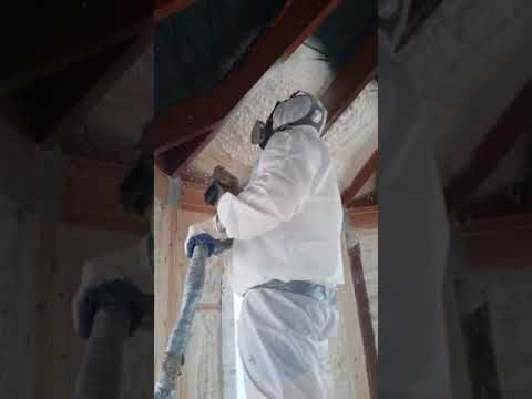 MP Builders Crew Spray Foam Insulation