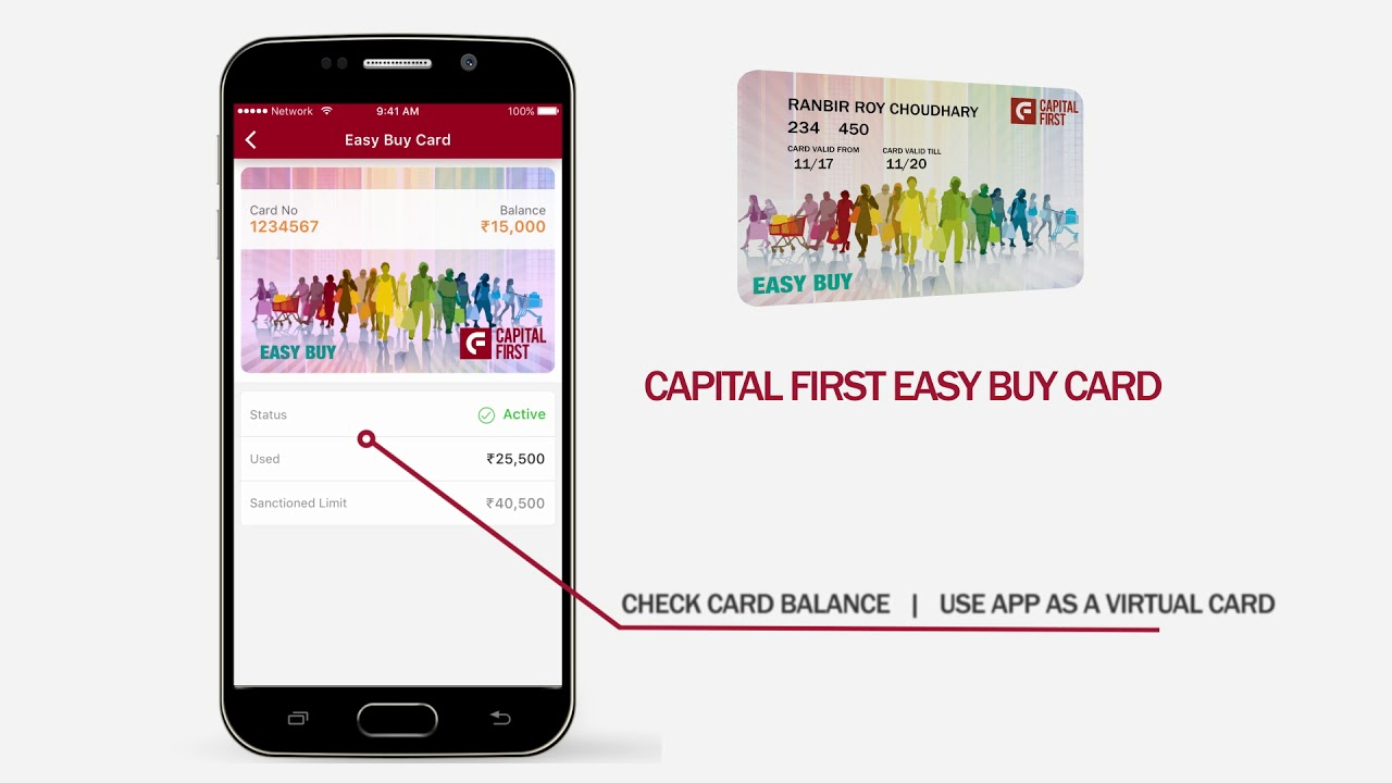 Capital First Mobile App Other Features Youtube
