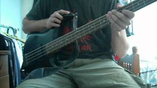 caustic are the ties that bind - bass cover
