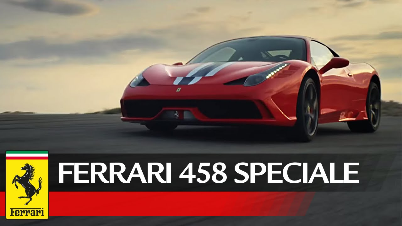 Ferrari 458 Speciale - Official video / Video ufficiale - YouTube