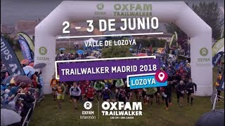 Oxfam Intermón - Trailwalker Madrid 2018