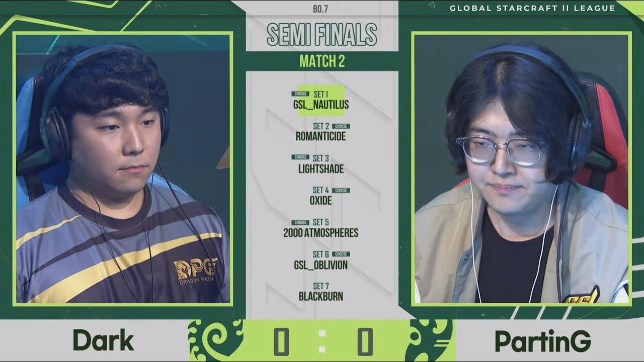[2021 GSL S2] RO4 Match2 Dark vs PartinG