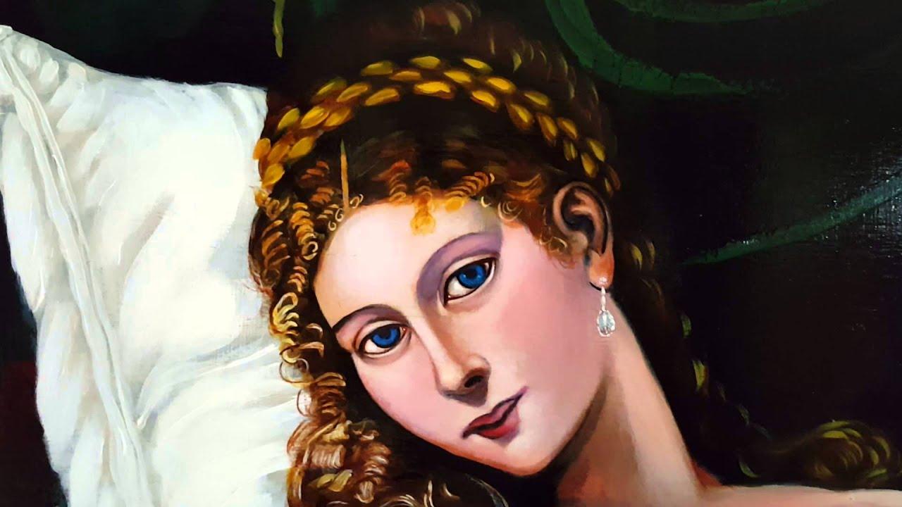 Venus of urbino by titian - YouTube
