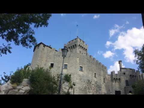 Walk to San Marino Guaita Castle part7