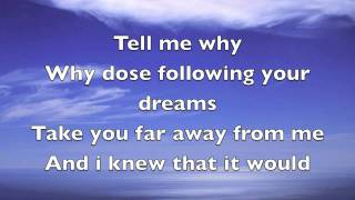 Michael W. Smith - How to say goodbye (with lyrics)