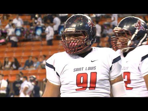 Saint Louis star football player named All-American