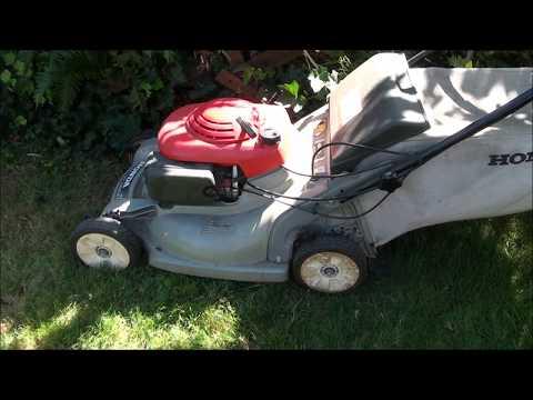 HONDA Harmony Lawnmower (plastic deck type) will not RUN or START. STARTS then DIES. Carburetor
