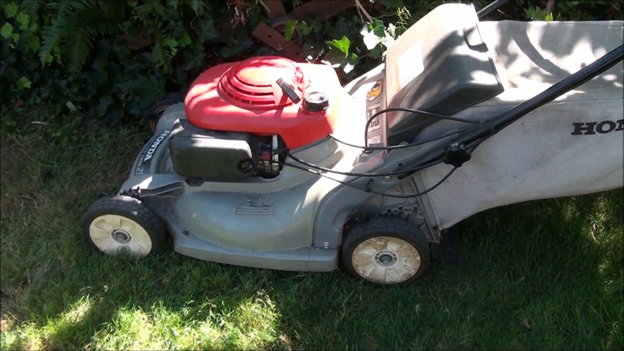 HONDA Harmony Lawnmower (plastic deck type) will not RUN or START  STARTS  then DIES  Carburetor