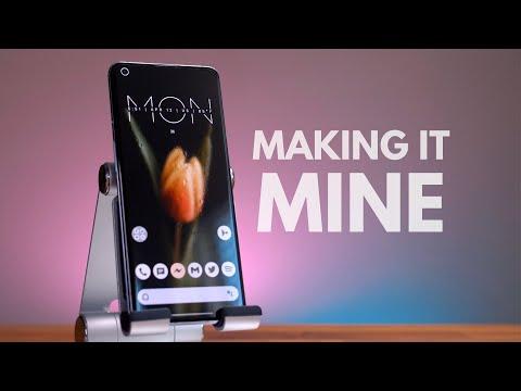 Android Police snyggar till hemskärmen på OnePlus 9 Pro Vad brukar du göra för ändringar?