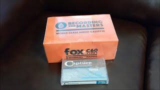 Normal Bias Type 1 FOX C-60 Recording The Masters Audio Cassette 10er Pack